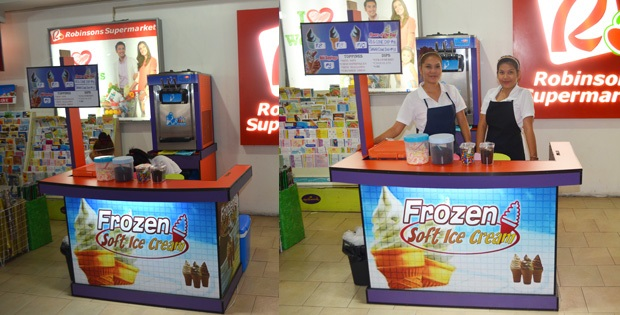 Soft Ice Cream Foodcart Package Phillipines Franchise
