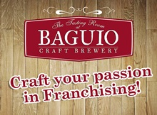 Baguio craft brewery franchise phillipines franchise for Franchise ad garage